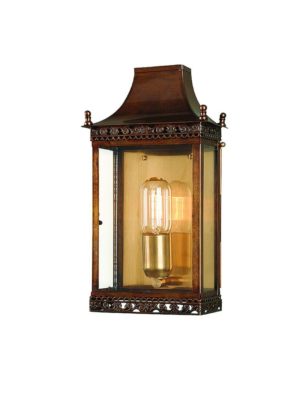 Regents Park Wall Lantern Brass