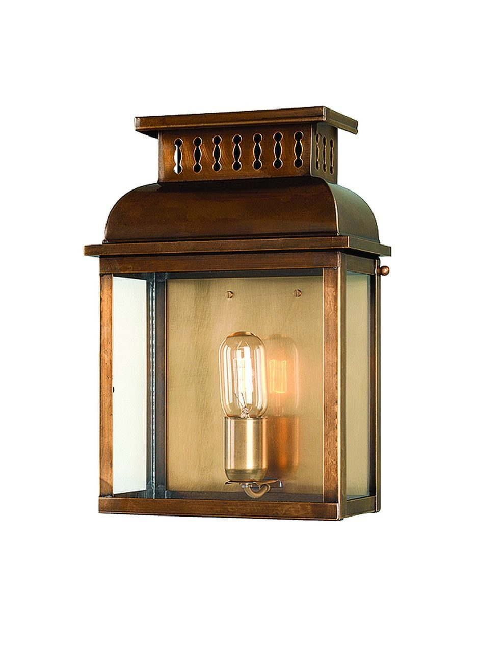 Westminster Wall Lantern Brass