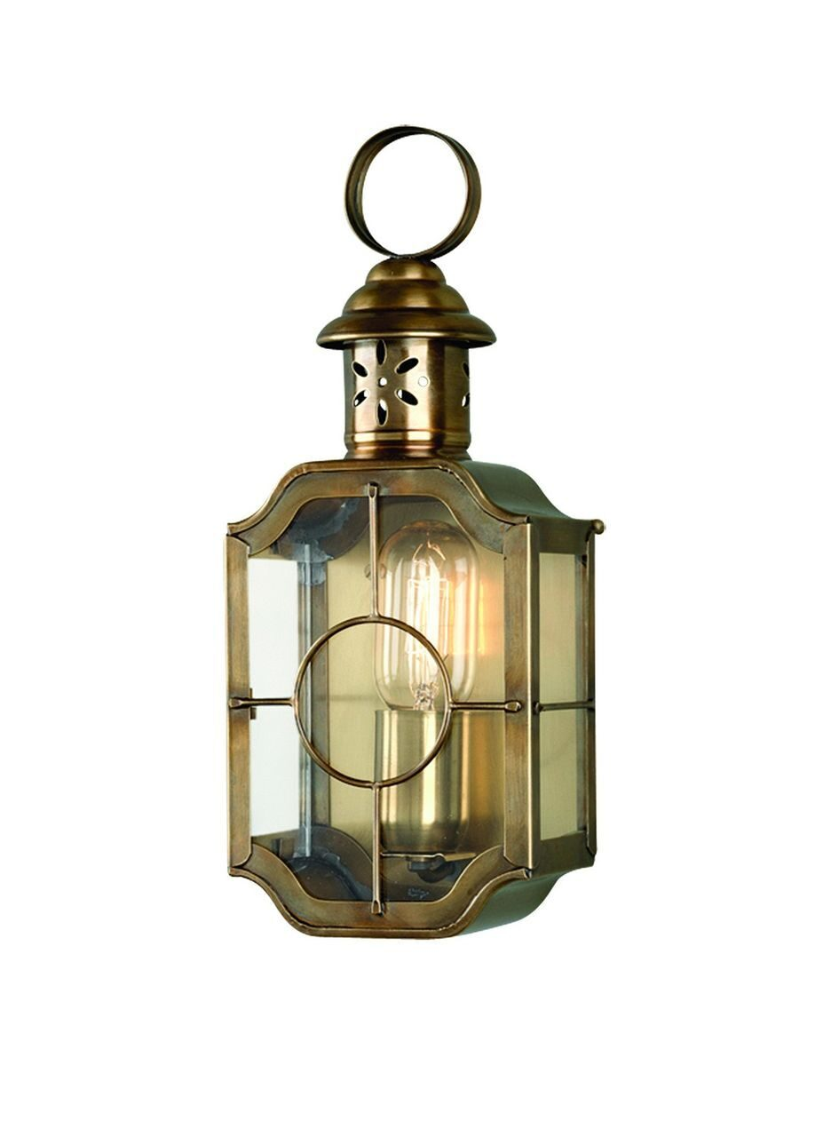 Kennington Wall Lantern Brass
