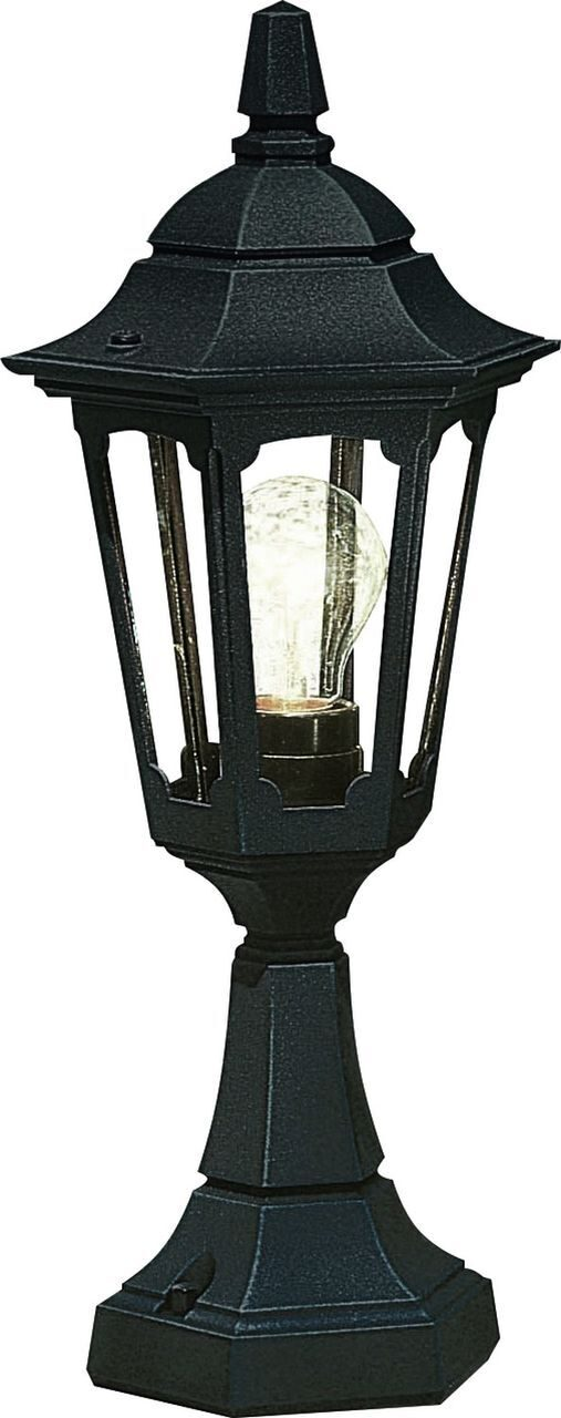 Parish Mini Pedestal Lantern Black